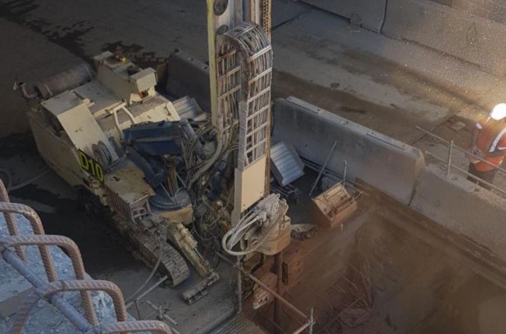 PSM8 Hydraulic Drill Rig